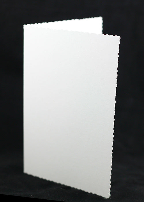 Eco 100% Recylced Deckle Edged Card