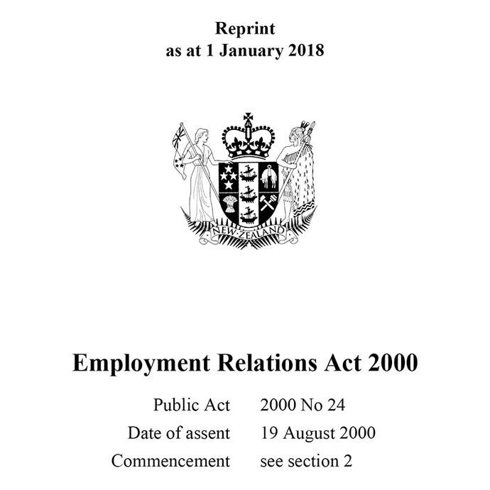 Employment Relations Act 2000