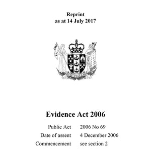 Evidence Act 2006