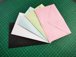 Coloured - 118mm x 180mm (for PC11 photo cards)