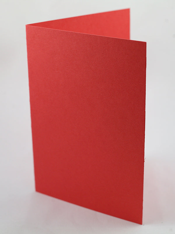 Coral (Reddish Pink) Pack  of 5 cards