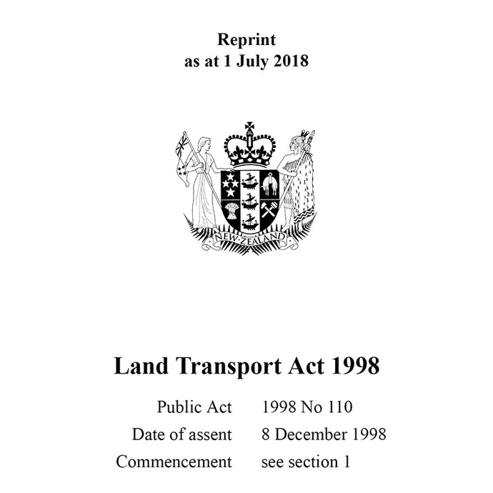 Land Transport Act 1998