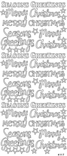 Merry Christmas and Seasons Greetings Mixed