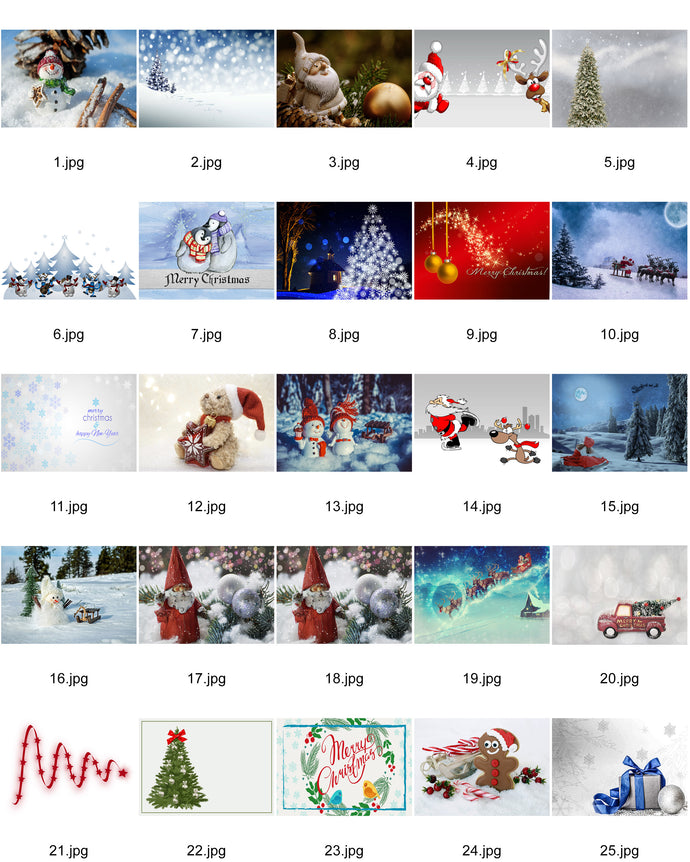 Christmas Cards Customised