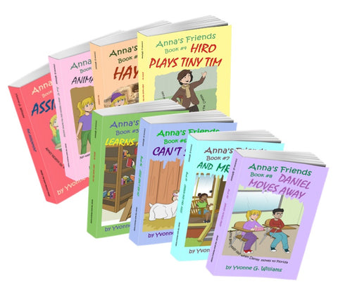 Save BIG when you order the Complete set of Anna's Friends Books for your Child!