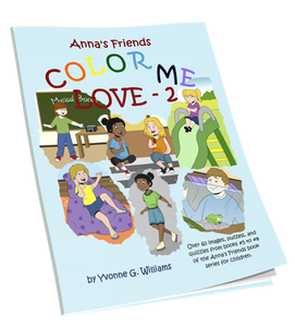 Color Me Love Coloring Book #2 - annasfriendsmarketplace