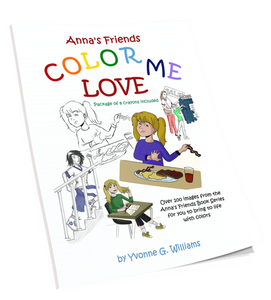 Color Me Love Coloring Book #1 - annasfriendsmarketplace