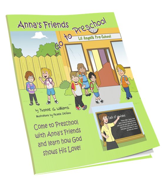 Anna's Friends Go to Preschool - annasfriendsmarketplace
