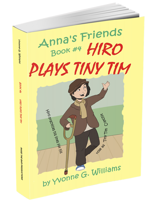 Book # 4 - Hiro Plays Tiny Tim - annasfriendsmarketplace