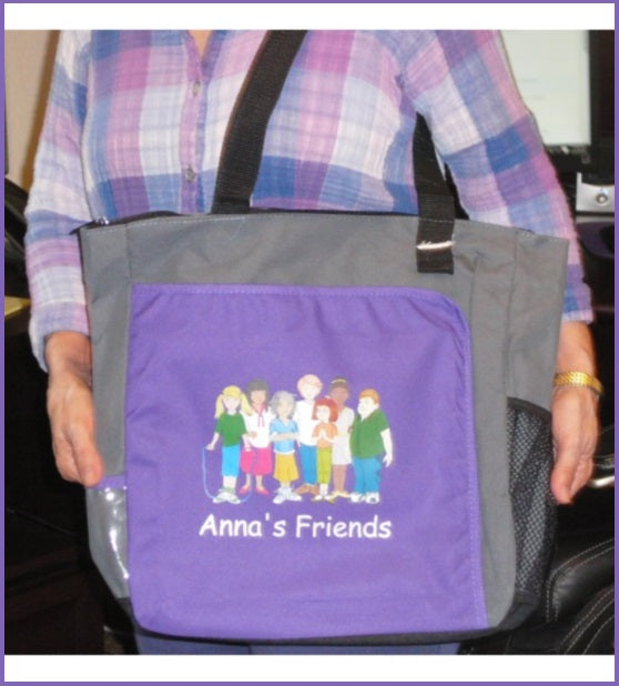 Anna's Friends Tote Bag - annasfriendsmarketplace