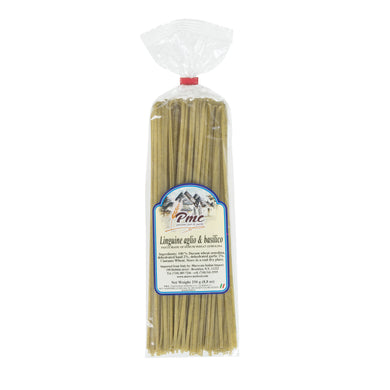 Linguine with Garlic & Basil