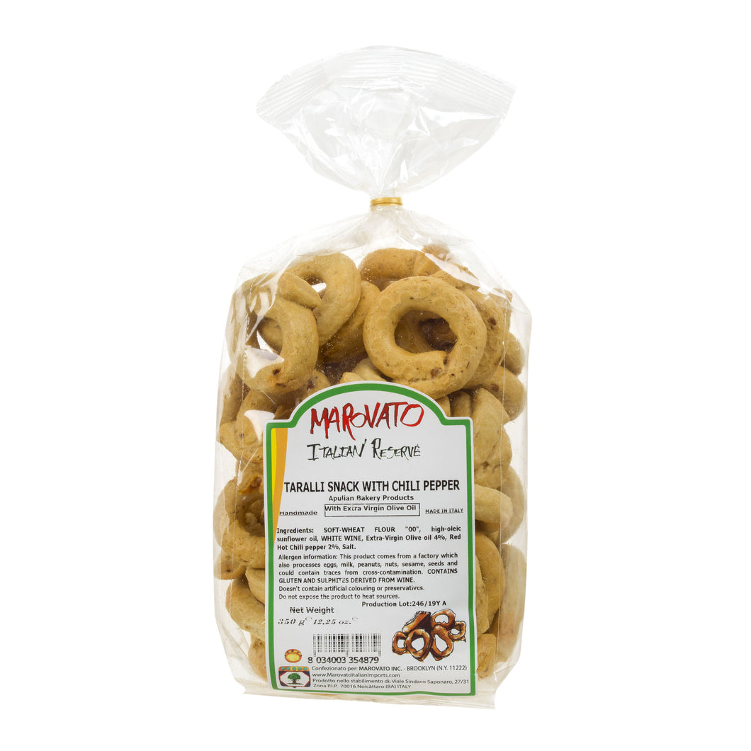 Taralli with Chili Pepper