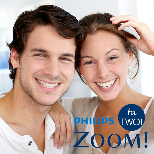 Zoom Teeth Whitening Treatment for Two!