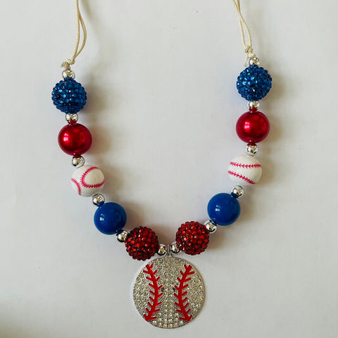 BASEBALL LOVIN' NECKLACE