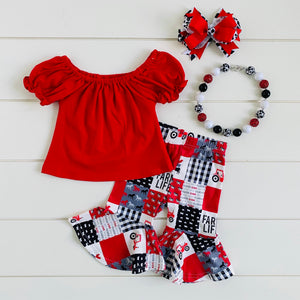 FARM TOWN RED TRACTOR CAPRI SET