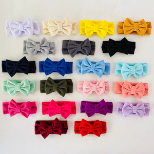 COLORFUL HEADWRAPS WITH BOW