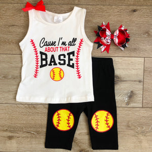 CAUSE I'M ALL ABOUT THAT BASE SOFTBALL SET