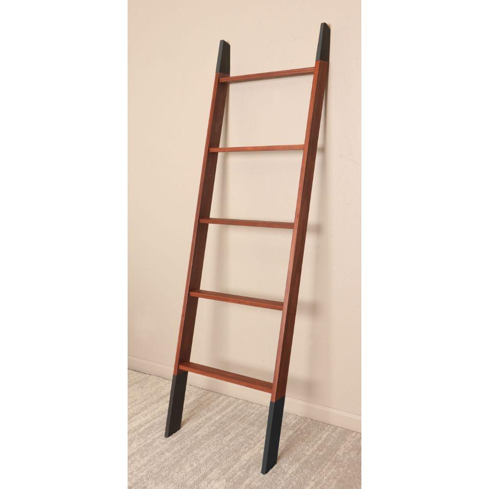 Chestnut with Black Accents Blanket Ladder 20'' x 72''