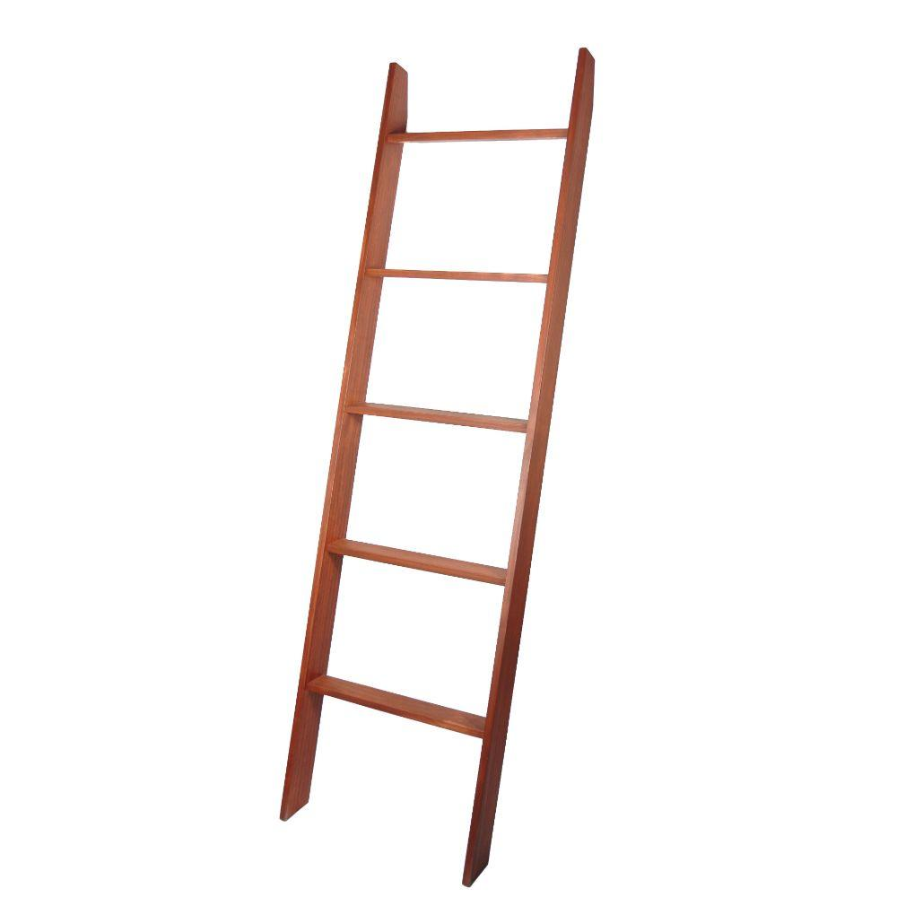 "Lucus Chestnut 72"" Decorative Blanket Ladder 20'' x 72''"