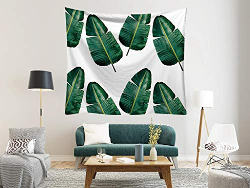 Banana Leaves Tapestry