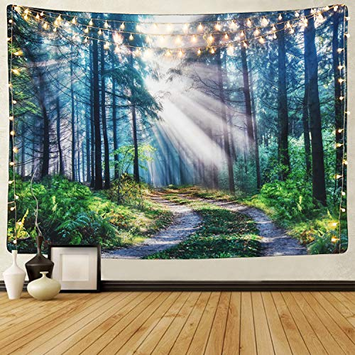 Sun Glare through Trees Tapestry