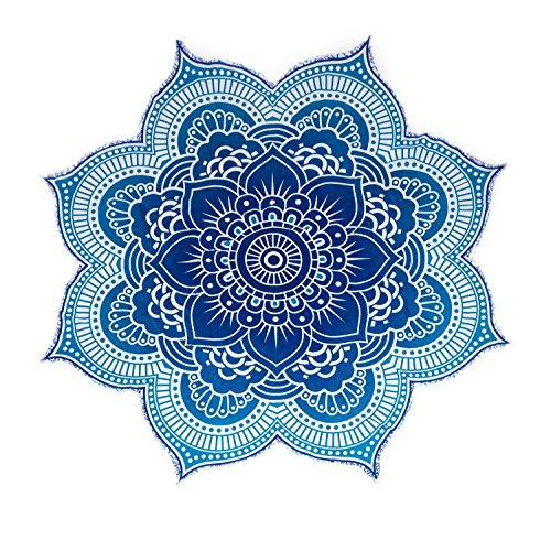 Blue Lotus Flower Mandala