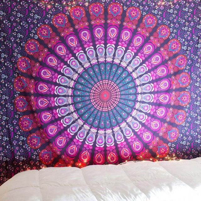 Purple Daze Tapestry