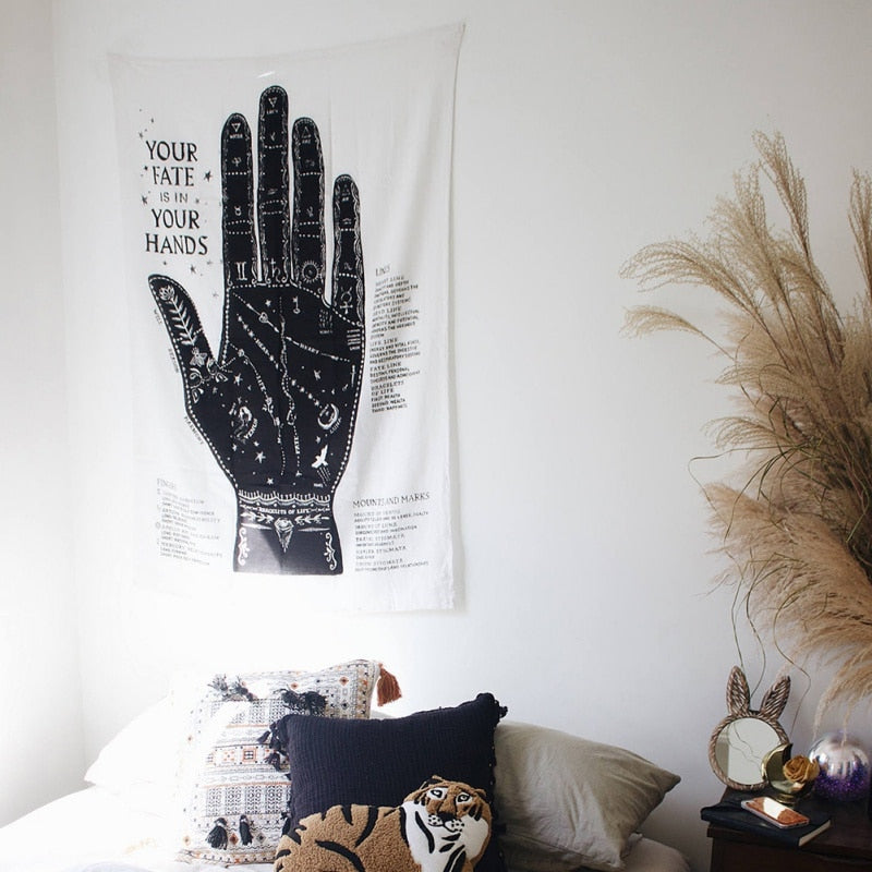Palm Reading Tapestry