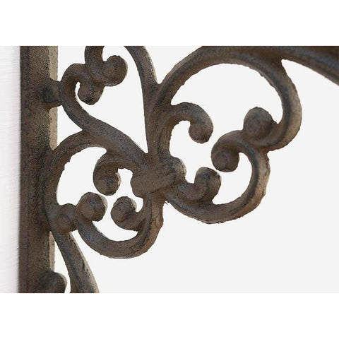 Cast Iron Decorative Bracket with Plant Hook - Plant Hook