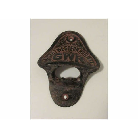 Cast Iron Wall Mounted Bottle Opener GREAT WESTERN RAILWAY - Bottle Opener