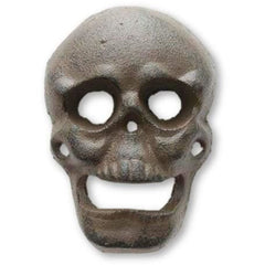 Cast Iron Wall Mounted Skull Bottle Opener - Bottle Opener
