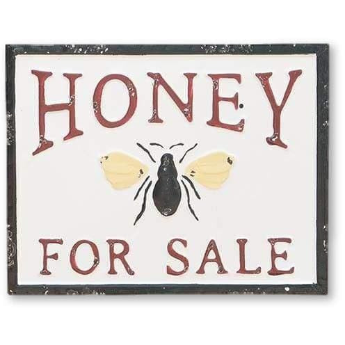 Famhouse HONEY FOR SALE Embossed Sign - signs