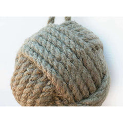 Heavy Rope Knot Doorstop 7 Diameter - Door Stop