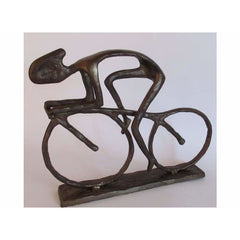 Huge Iron Bicycle Sculpture - Metal