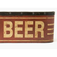Large COLD BEER Metal Sign - signs