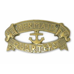 Mermaid Quarters Plaque - signs
