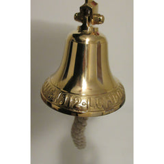Titanic Ship Bell with Polished Brass Finish