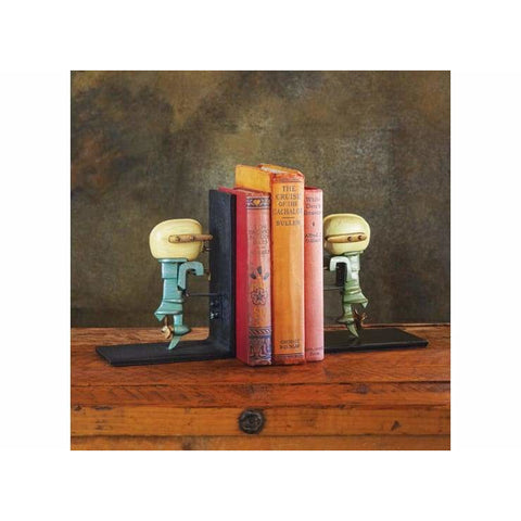 Pendulux Outboard Motor Bookends - bookends