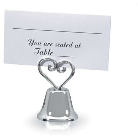 Victoria Lynn Heart Themed Bell Place Card Holders - Name Tag Holder