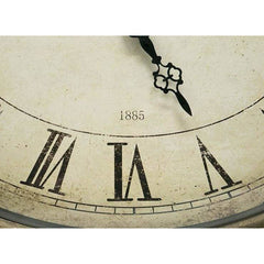 Vintage Style Oval French Wall Clock - Wall Clock
