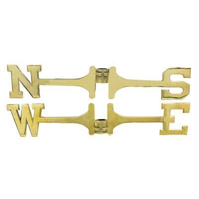 Weathervane Brass Directional Set - Polished Finished - Accent
