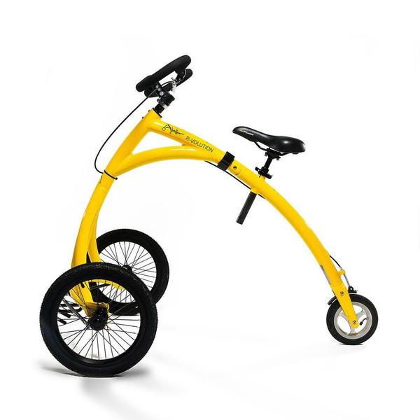Yellow Alinker walking bike