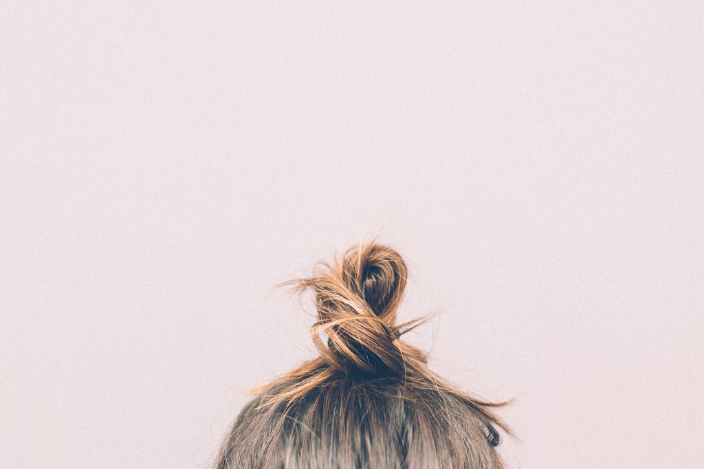 hair bun - how to prevent hair loss
