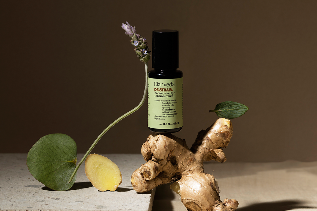 DE-STRAIN botanical oil for tension relief