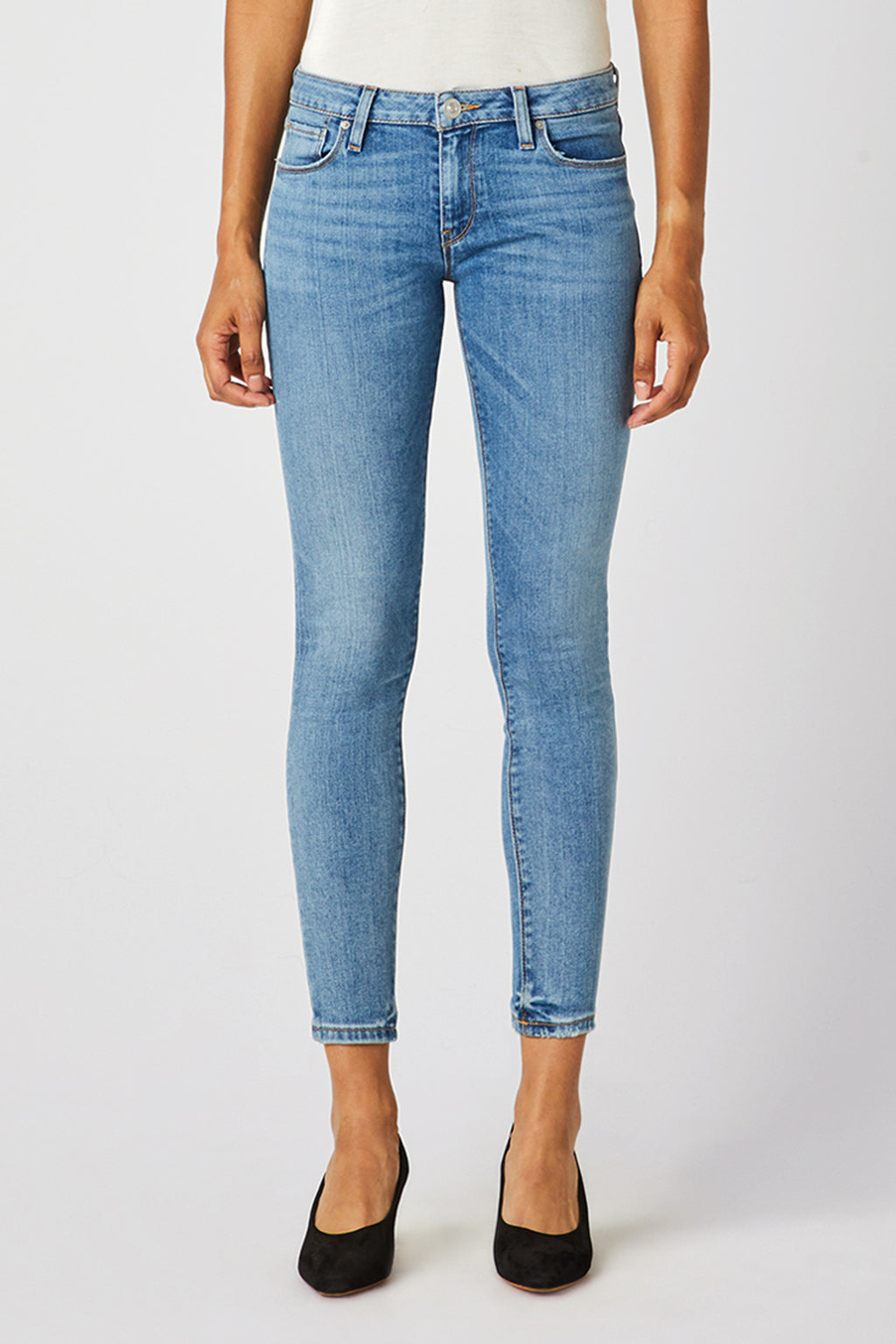 Krista Low-Rise Super Skinny Ankle Jean