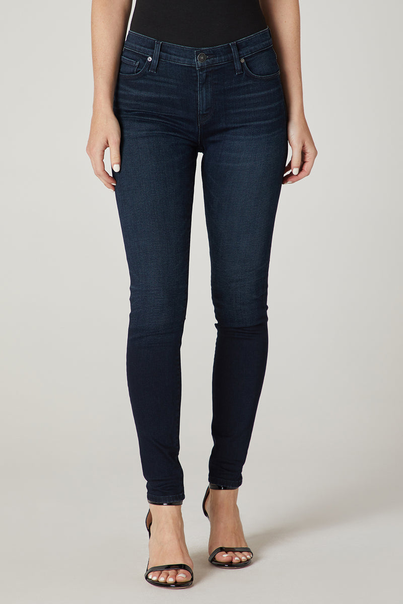 Nico Mid-Rise Straight Leather Pant