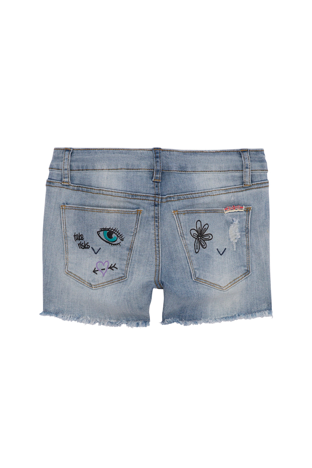 Big Girls Fearless Short, Sizes 7-16 - hudsonjeans