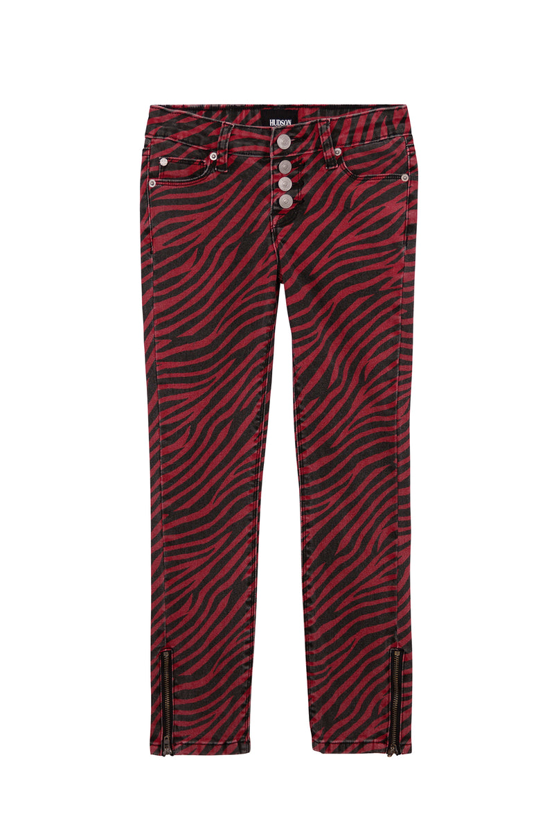 Little Girls Zebra Skinny Jean, Sizes 2T-6X