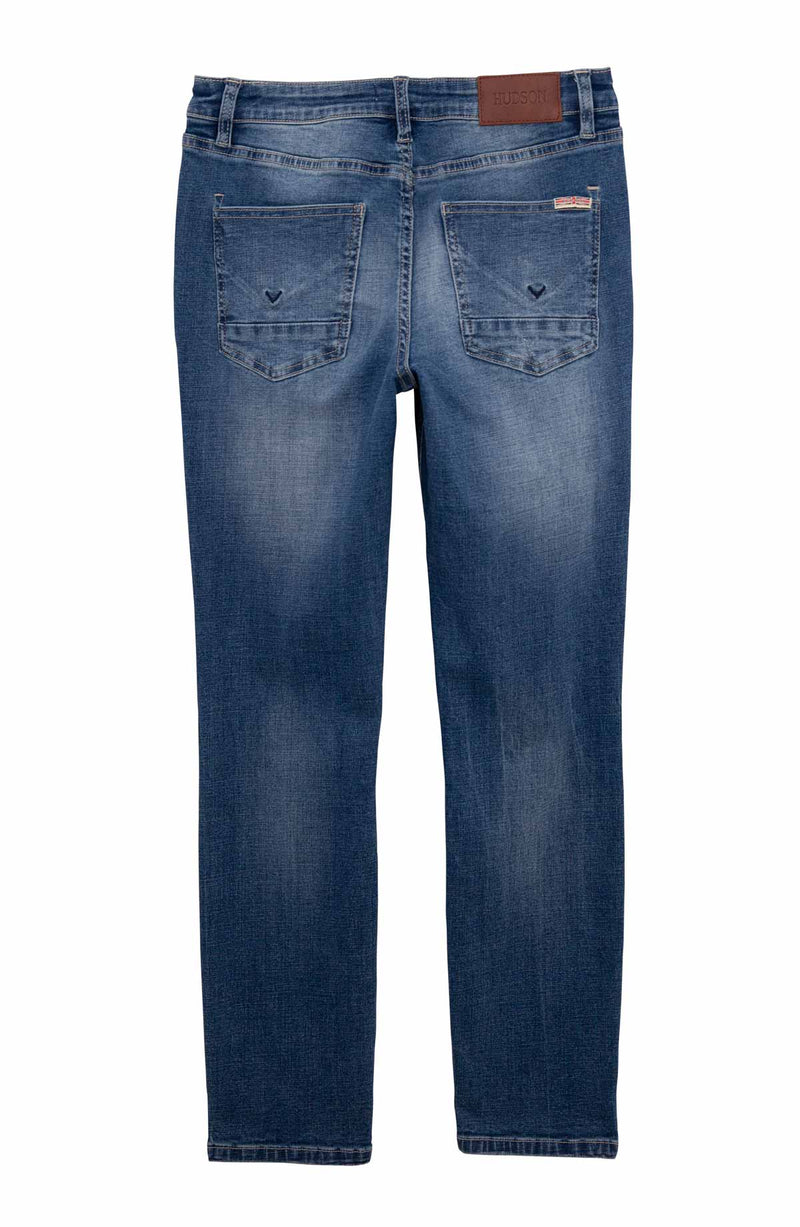 Big Boys Jagger French Terry Jean, Sizes 8-18 - hudsonjeans