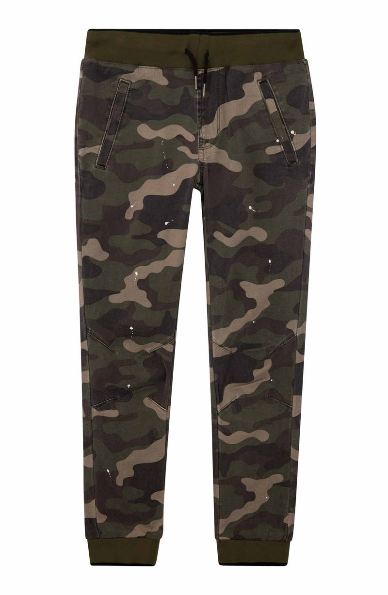 Little Boys Army Jogger, Sizes 2T-7 - hudsonjeans